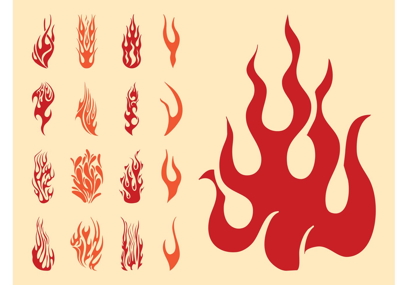 1400x980 Silhouette Clipart Flame On Pole