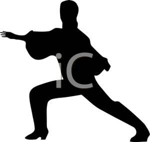 300x284 Art Image A Male Flamenco Dancer's Silhouette
