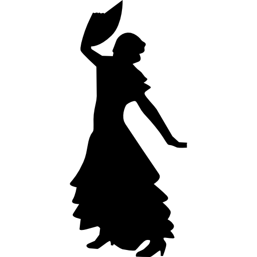 512x512 Flamenco, Couple, Dancer, People, Flamenco Icons, Dancing, Dance