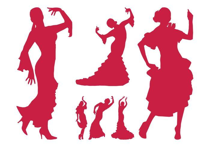 700x490 Flamenco Dancer Silhouettes