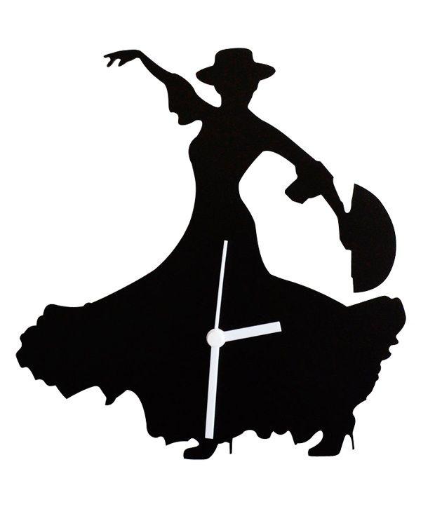 Flamenco Silhouette