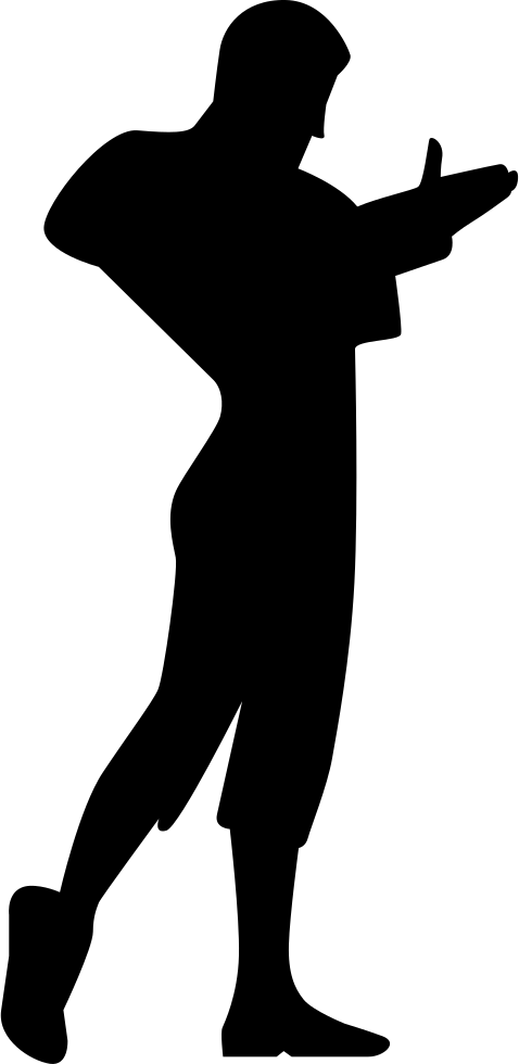 478x980 Flamenco Male Dancer Silhouette Svg Png Icon Free Download ( 30324