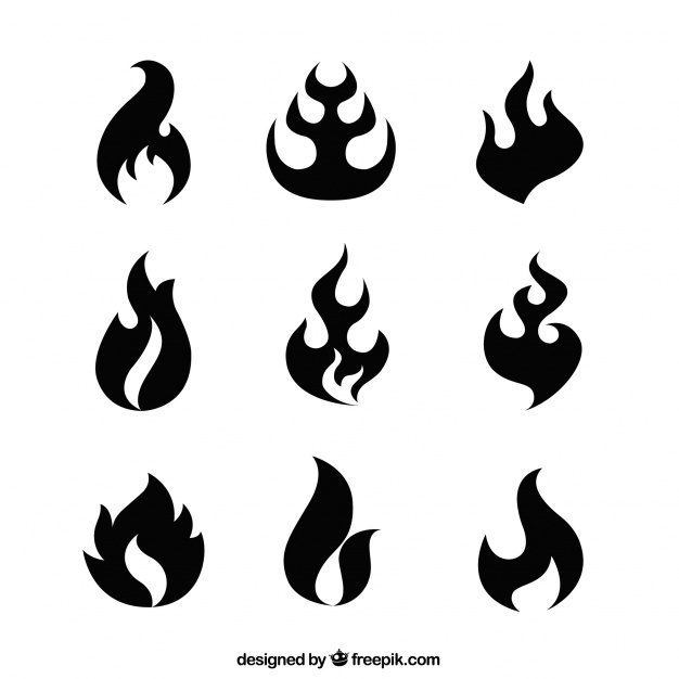 626x626 Flame Silhouette Vectors, Photos And Psd Files Free Download