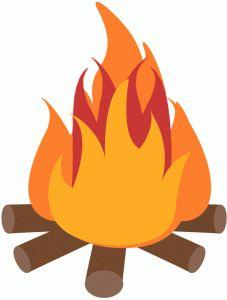 227x300 Bonfire Clipart Silhouette