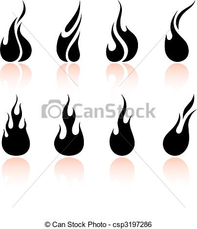 404x470 Fire Flames Black And White Clipart Panda