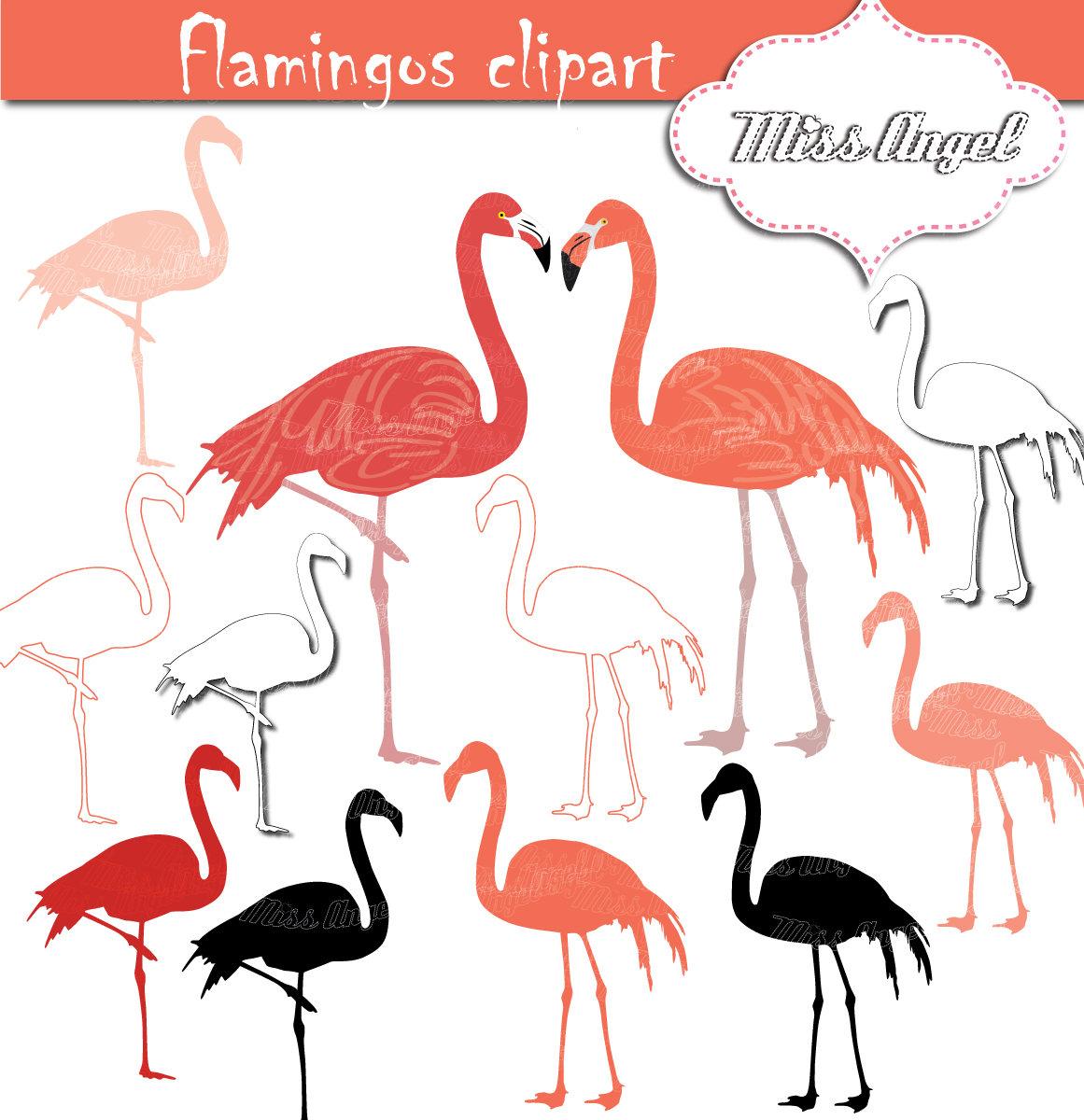 1161x1200 Flamingo Clip Art. Flamingos Silhouette Clipart. Pink Flamingo