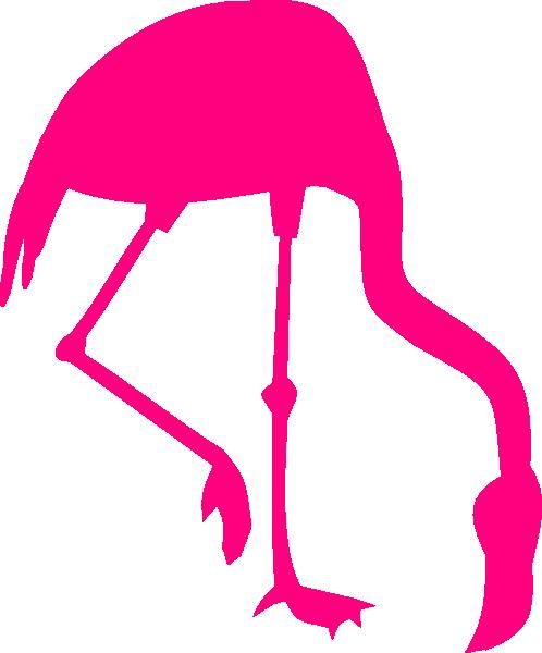 498x600 Pink Flamingo Silhouette Clip Art