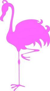 167x300 Flamingo Clipart Image