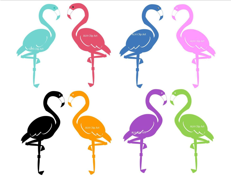 1500x1159 Flamingo Silhouette Clip Art, Digital Clipart, Digital