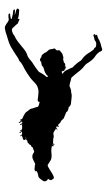 107x190 Flapper Girl Silhouette Bigking Keywords And Pictures