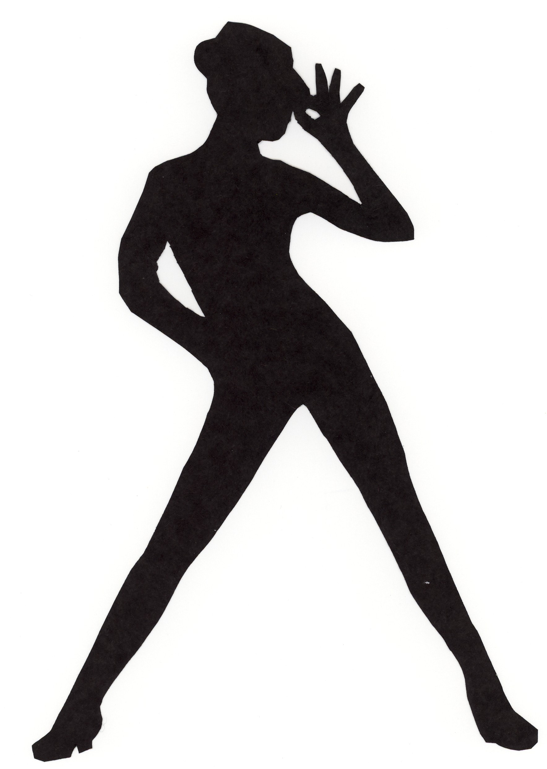 1768x2487 Clipart Silhouette