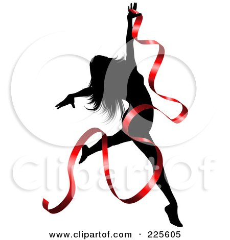 450x470 Clipart Picture Illustration Of A Dancing Flapper Woman In A White
