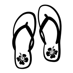 300x300 Flip Flop Decal Sew Personal Online Store Powered By Storenvy