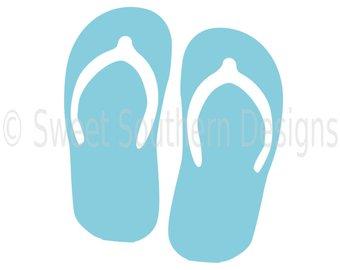 340x270 Summer Flip Flop Svg Etsy