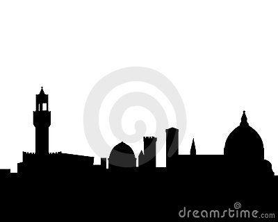 400x320 Florence Vector Skyline Silhouette By Ashestosky, Via Dreamstime