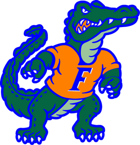 289x300 Florida Gators Logo Vector (.ai) Free Download