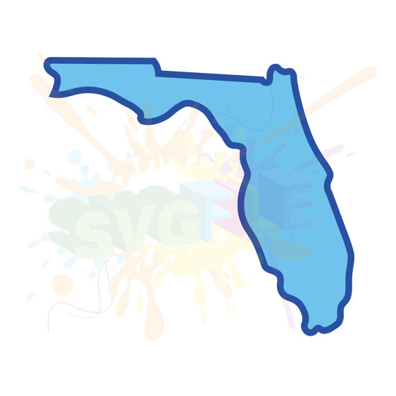 570x570 Florida State Svg Files For Cutting America Cricut Designs