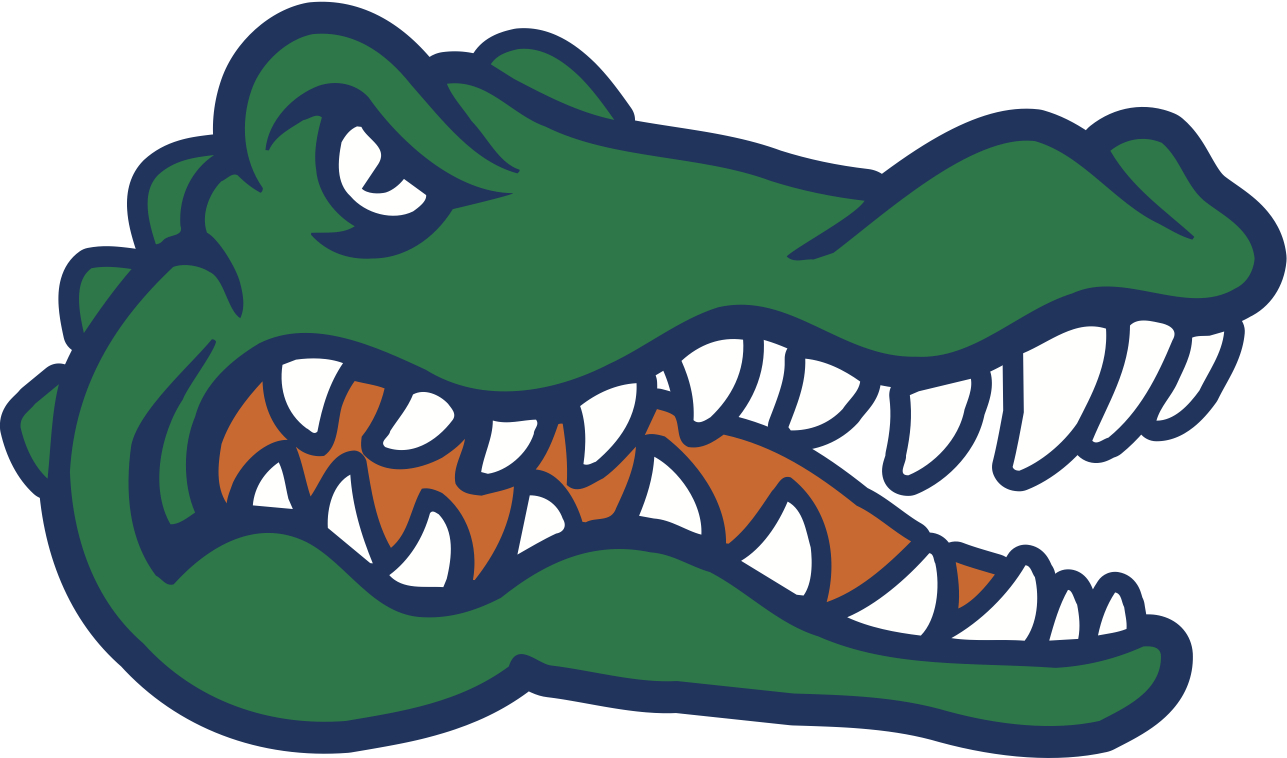 1287x758 Florida Gators Clipart