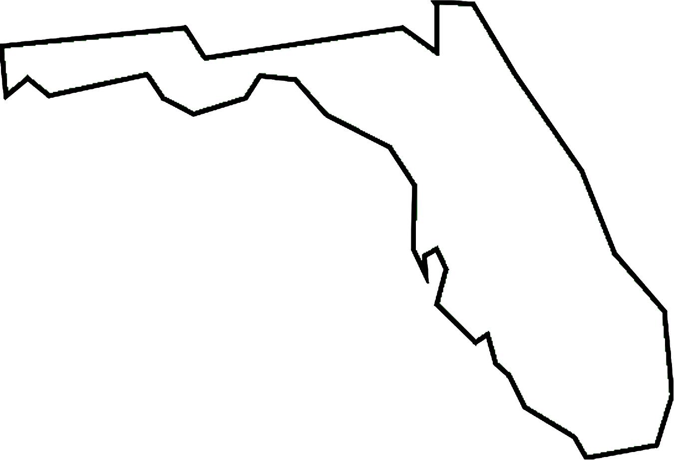 1350x922 florida state border line outline comic art pinterest outlines