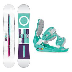 236x236 Flow Silhouette And Pearl Womens Complete Snowboard Package 144cm