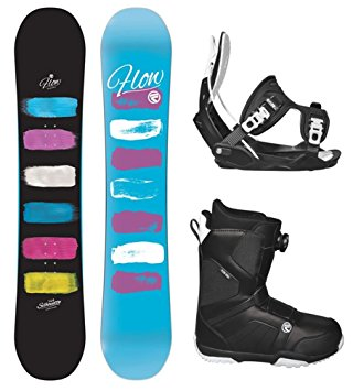 320x355 Flow 2016 Silhouette Women's Complete Snowboard