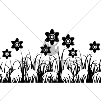 325x325 Easter Border Gl Stock Images