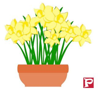 320x298 Cut File Flower Pot Silhouette Cameo Filing