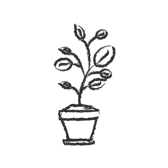 550x550 Flower Pot Silhouette 55922 Movieweb