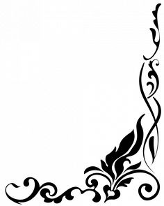 236x295 Black And White Border Designs For Projects