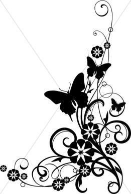 261x388 Church Flower Clipart, Church Flower Image, Church Flowers Graphic