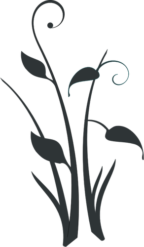 Flower Silhouette Clipart