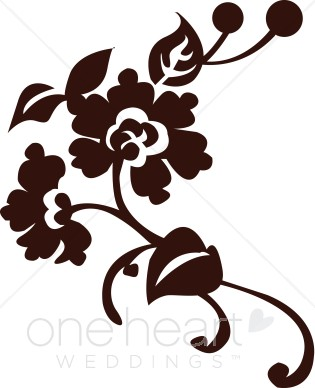 315x388 Clip Art Flourish Flower Clipart