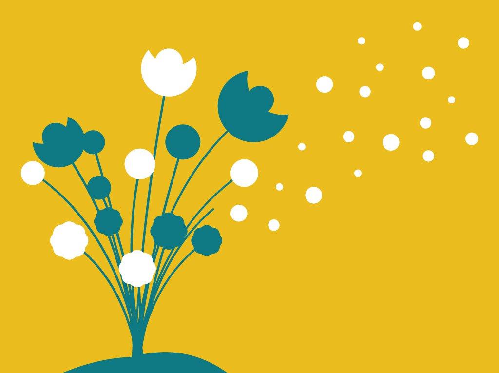 1024x765 Flowers Silhouette Vector Vector Art Amp Graphics