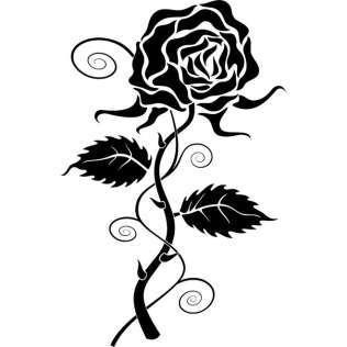 316x316 Flower Silhouette Vectors Download Free Vector Art