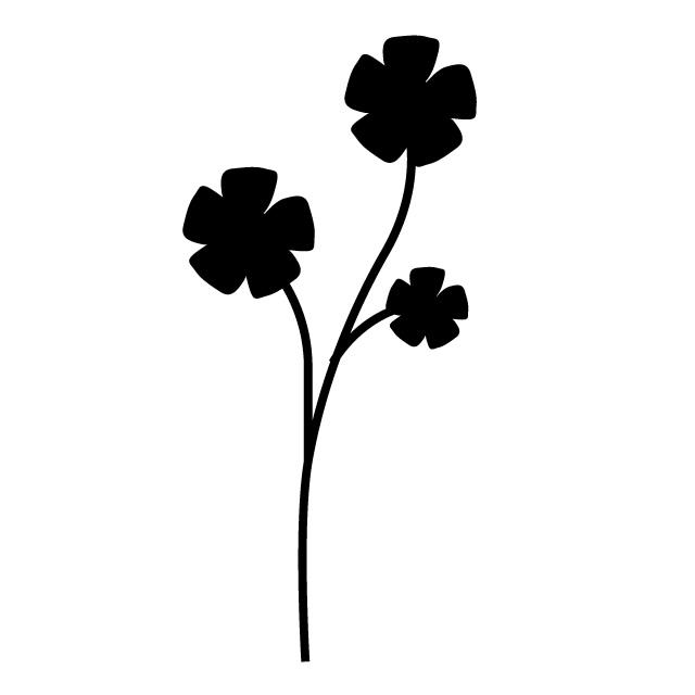 640x640 Flower Free Icon Mark Illustration