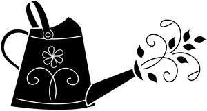 300x162 Free Watering Can Clipart Image 0515 1103 2603 0819 Garden Clipart