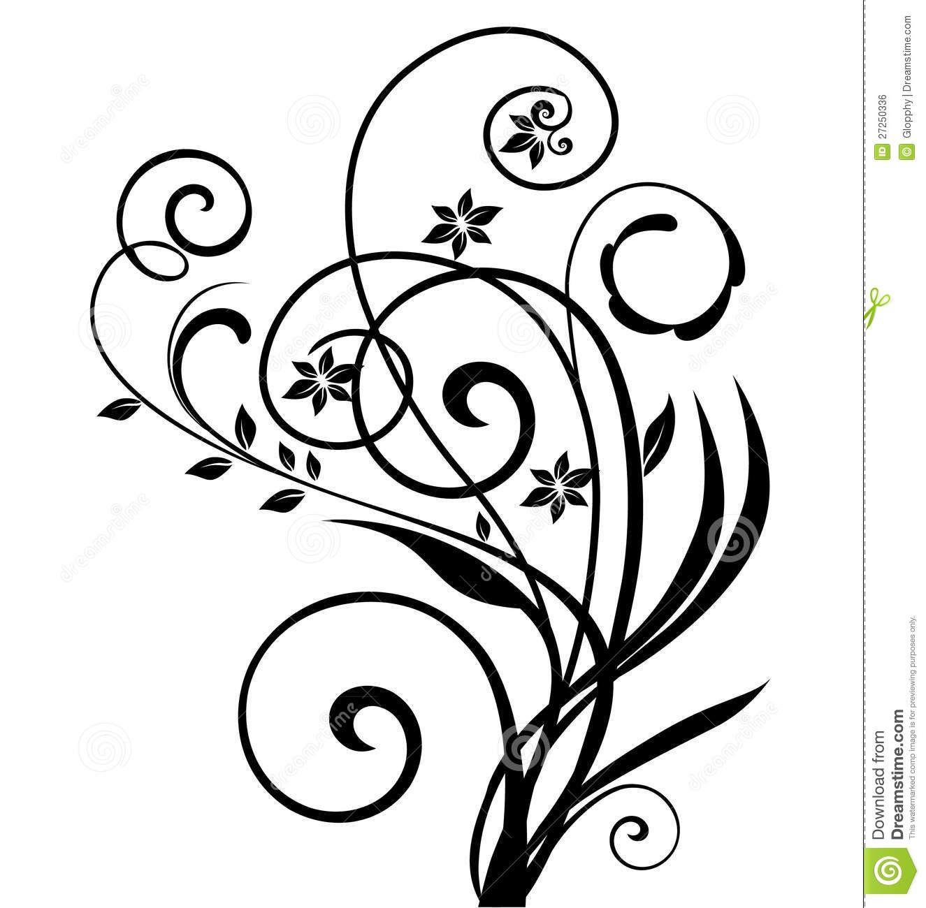 1325x1300 Swirly Floral Design 27250336.jpg Pixels Swirl