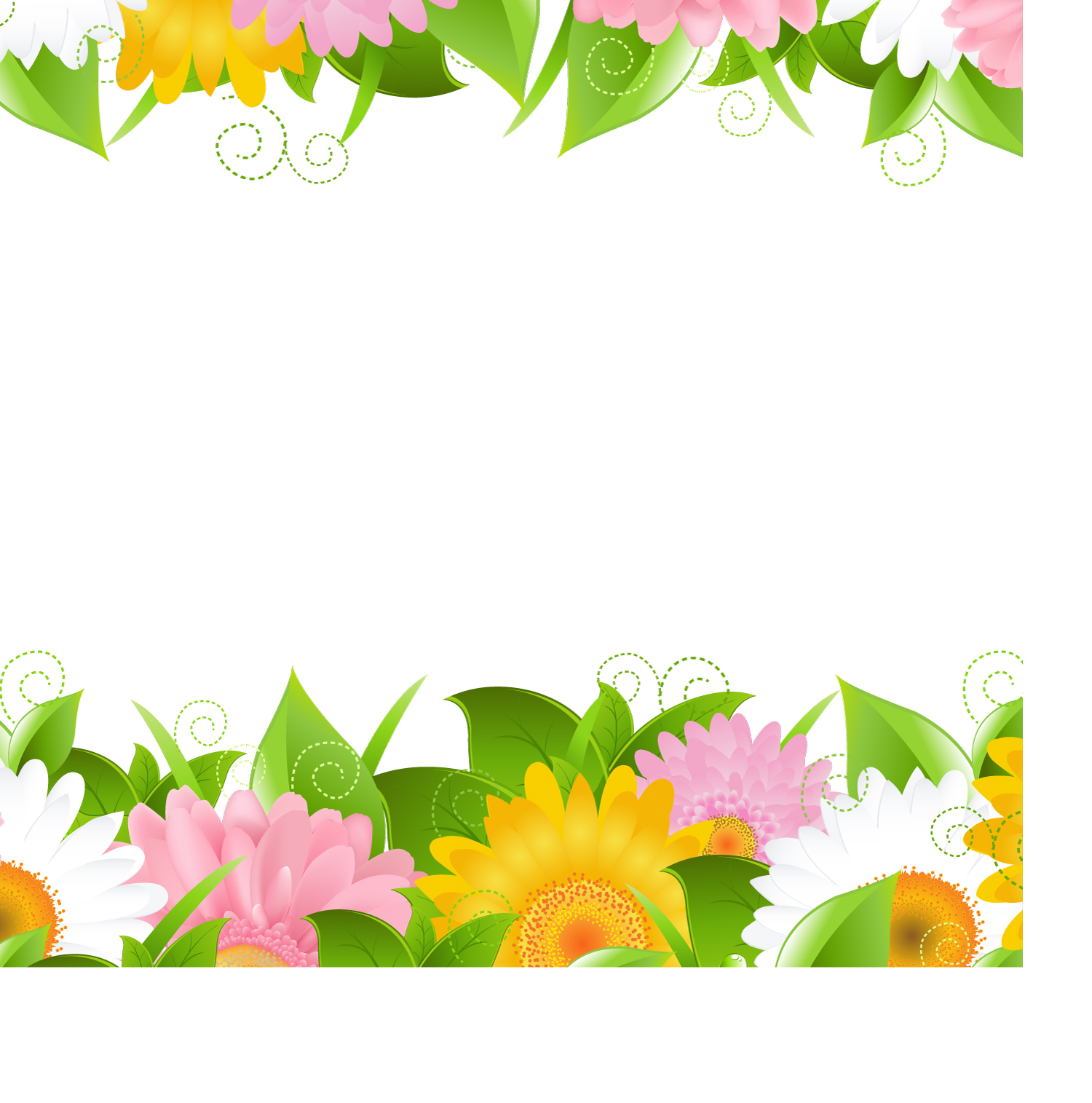1500x1515 Free Flower Plant Vector Silhouettes Download Free Vector Art