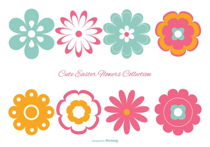 700x490 Free Flowers Silhouette Vector