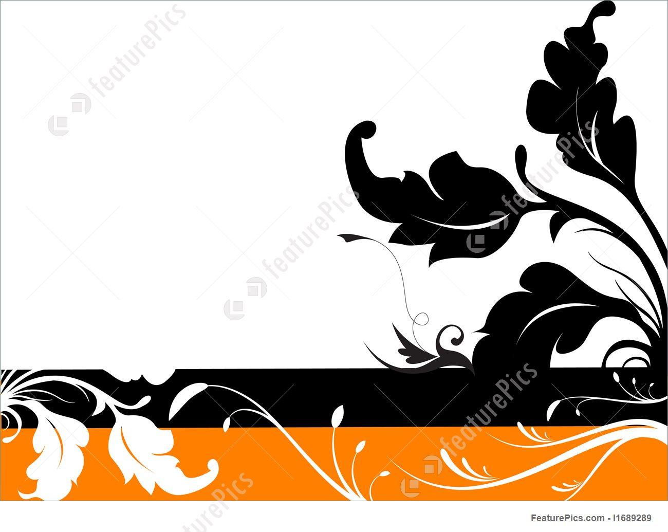 1300x1035 Templates Vector Floral Silhouette Design