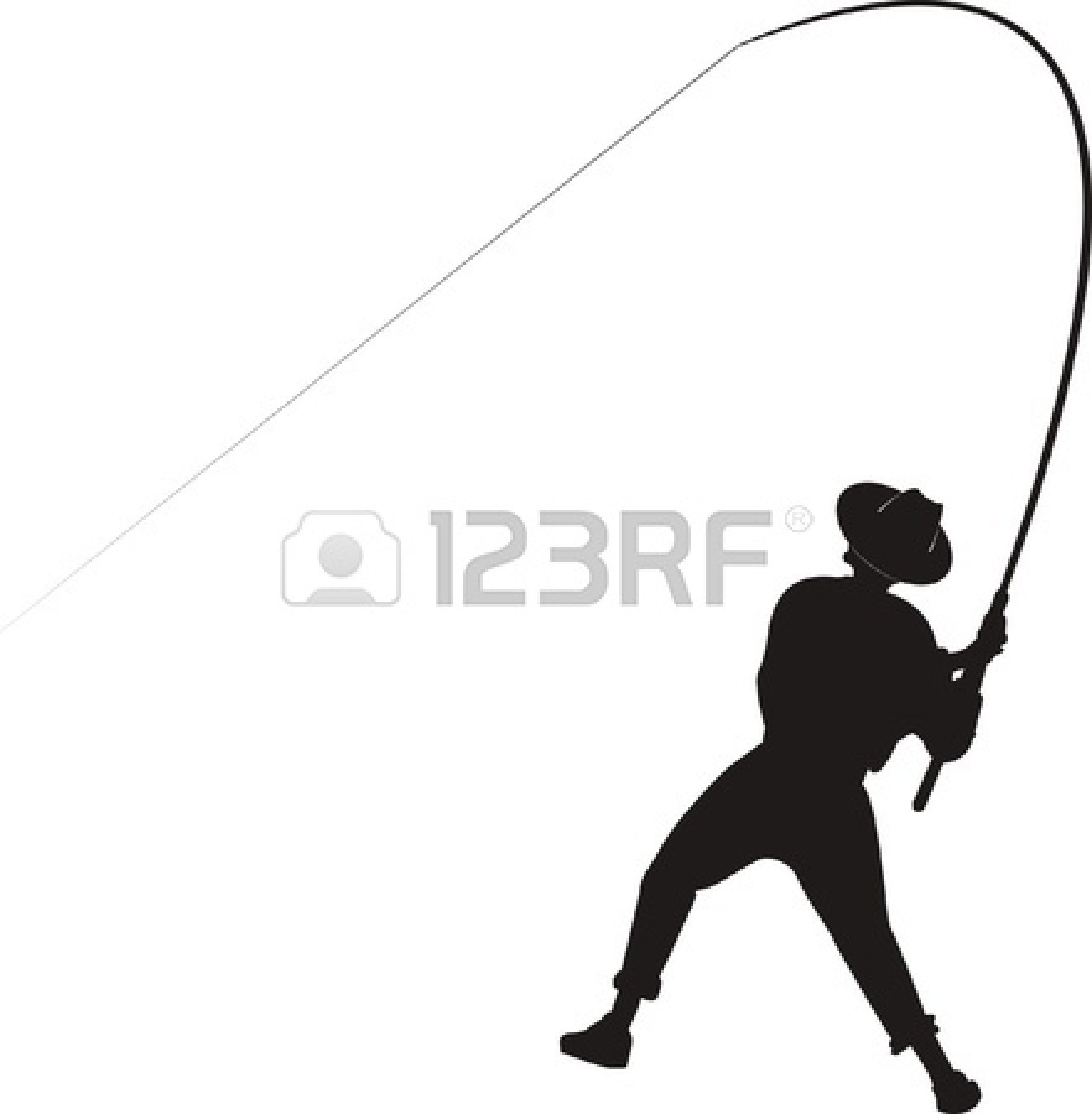 1323x1350 Free Fly Fishing Silhouette Clipart