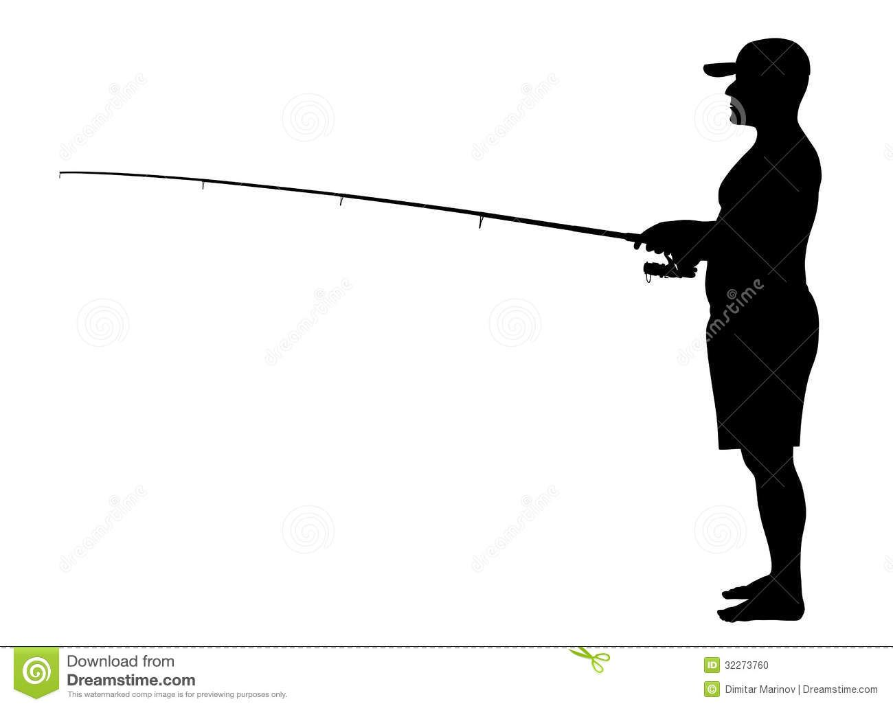 1300x1031 Fisherman Silhouettes [Eps File] Silhouettes Vector
