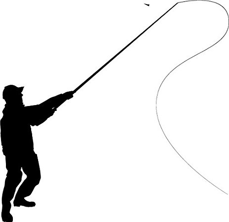 463x448 Fly Fishing Decal