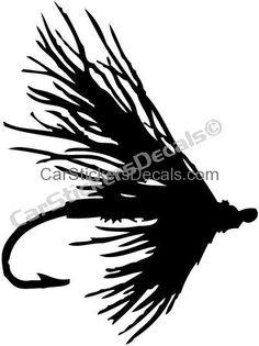 236x315 Fly Fishing Window Decals