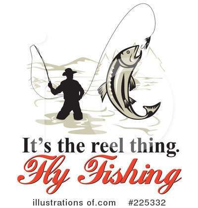 400x420 Fly Fishing Images Clipart Fly Fisherman Silhouette Vector