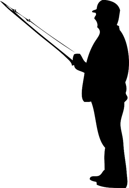 Fly Rod Silhouette