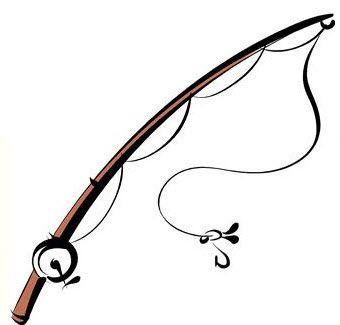 340x325 Fishing Rod Clip Art Rod Clipart Paper Casports