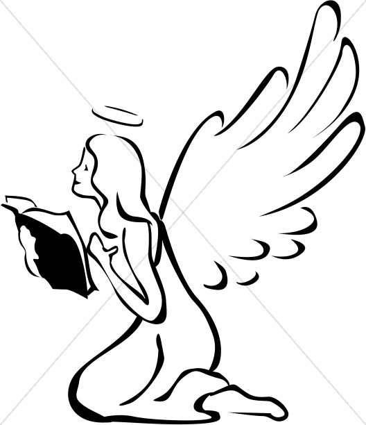 528x612 Angel Clipart, Angel Graphics, Angel Images