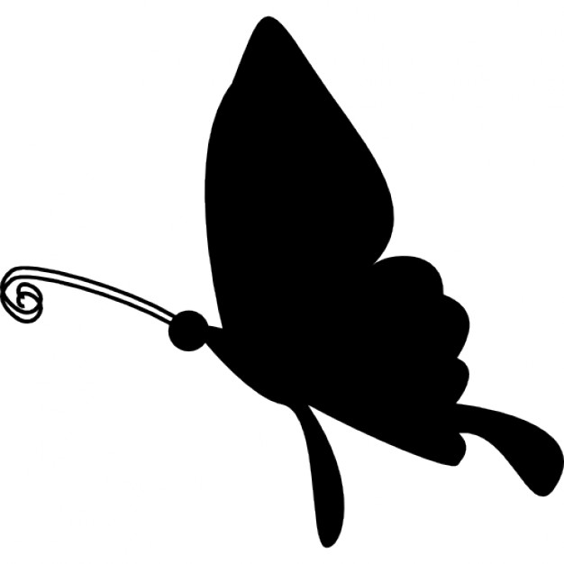 626x626 Butterfly Flying Silhouette Icons Free Download