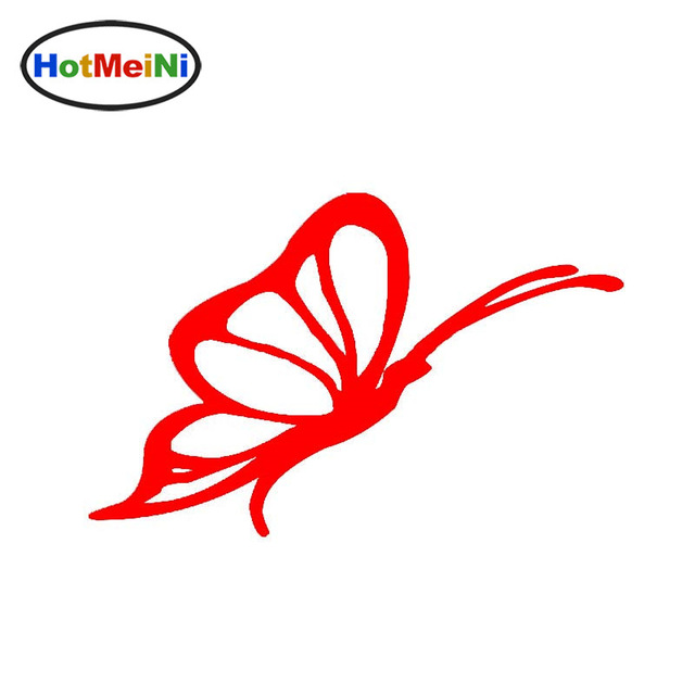 640x640 Hotmeini Free Flying Insect Butterfly Silhouette Art Of Car